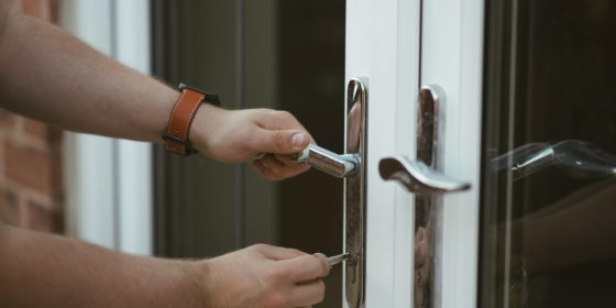 Home Security | Locked Doors | Lenz Security