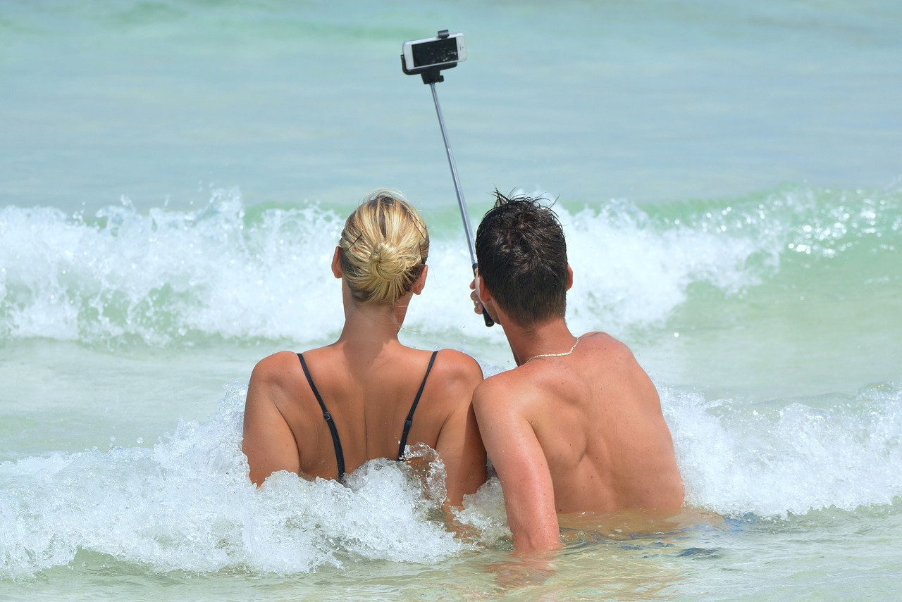 Home security system Colchester | Taking selfie